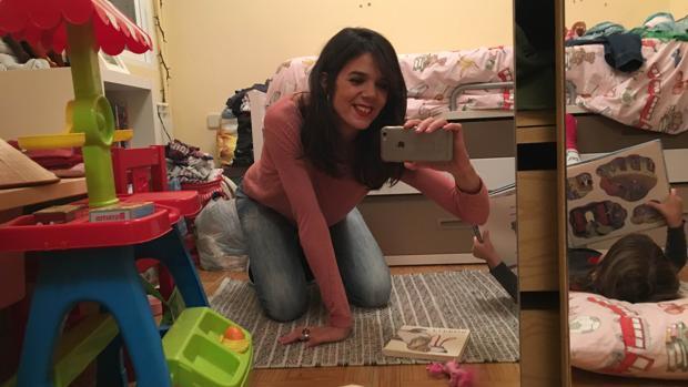 El selfie que Lara Moreno regala a ABC Cultura