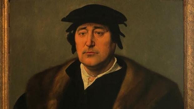 «Retrato de hombre», de Joos van Cleve