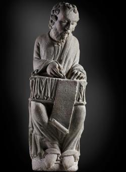 «San Mateo» (h. 1200), del Maestro Mateo