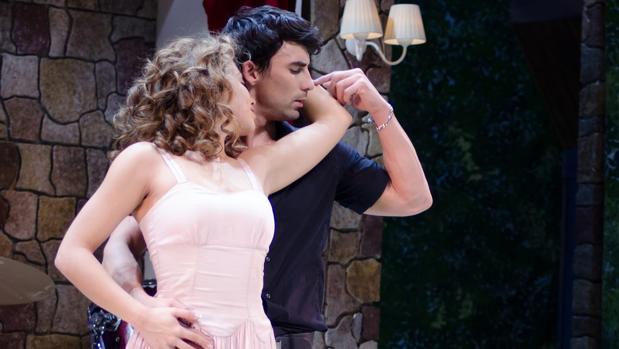 Amanda Digón y Christian Sánchez, protagonistas de «Dirty Dancing»