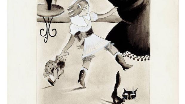 «Ali», dibujo publicado en «Gente Menuda» en 1932