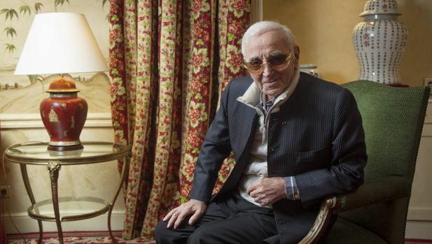 Charles Aznavour en Madrid