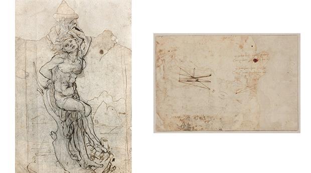 tajan leonardo kevB  620x349@abc - Seis siglos más tarde, se descubre un dibujo de Leonardo da Vinci
