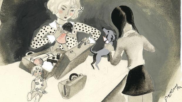 Serny, el Toulouse-Lautrec español, deslumbra en el Museo ABC