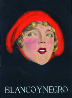 «Nani», primera portada que Serny hizo para Blanco y Negro el 20 de junio de 1926