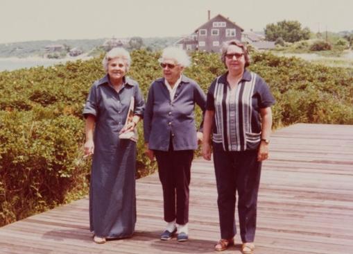 Elizabeth Bishop, Victoria Kent y Louise Crane