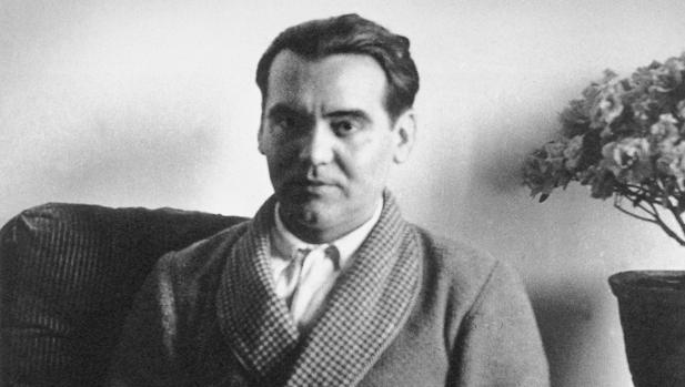 Federico García Lorca, retratado en 1930 por