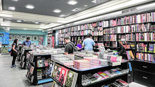 La librería Joker, especializada en cómic y ubicada en Bilbao, ha recibido este año una mención especial de Cegal por su «alto nivel»
