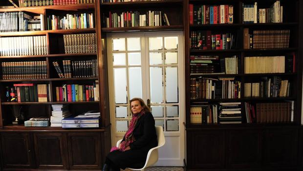 La escritora Carme Riera