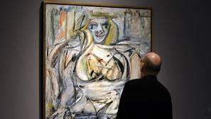 «Woman III», de Willem de Kooning. El artista padeció alzhéimer