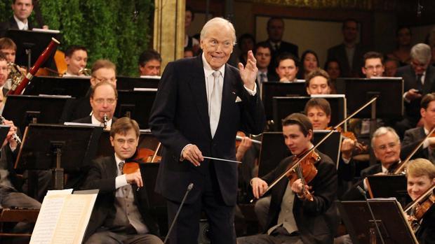 Prêtre, durante el Concierto de Año Nuevo en Viena en 2010