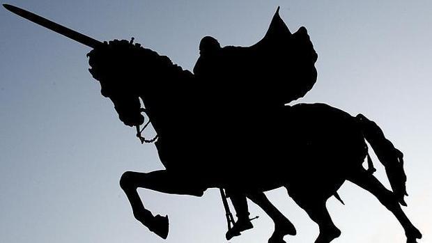 Estatua que representa al Cid