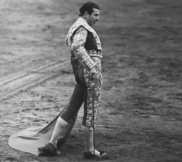 Antonio Ordóñez (en una de las imágenes expuestas el pasado octubre en Las Ventas) fue uno de los toreros que fotografió Hochberg
