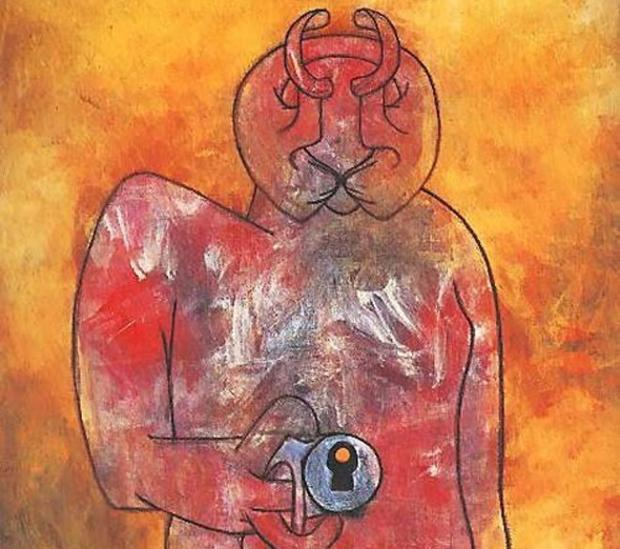 «Le Poète (Un poète de notre connaissance)», de Roberto Matta
