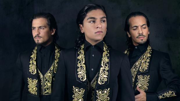 Los hermanos Juan, Antonio y Manuel Fernández Montoya (Farruquito, Farruco y Barullo)