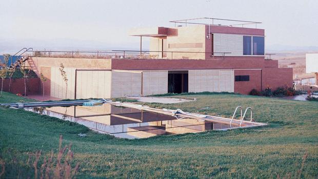 La Casa Guzmán, en una imagen de 1972