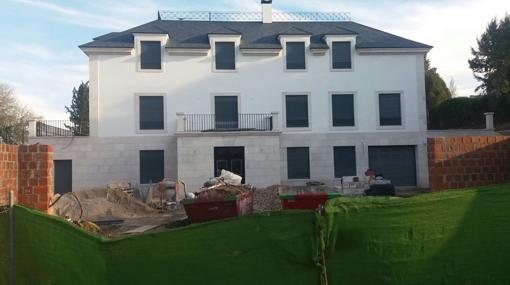 La nueva construcción, en la parcela que antes ocupaba la Casa Guzmán