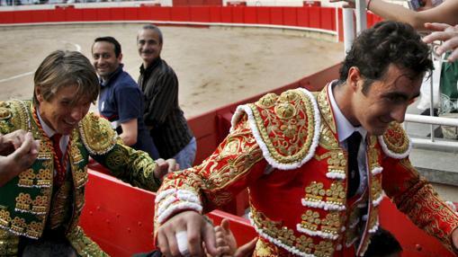 El Cordobés y El Fandi, a hombros en la Monumental catalana en 2009