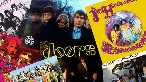 Portadas de discos de la producción del '67