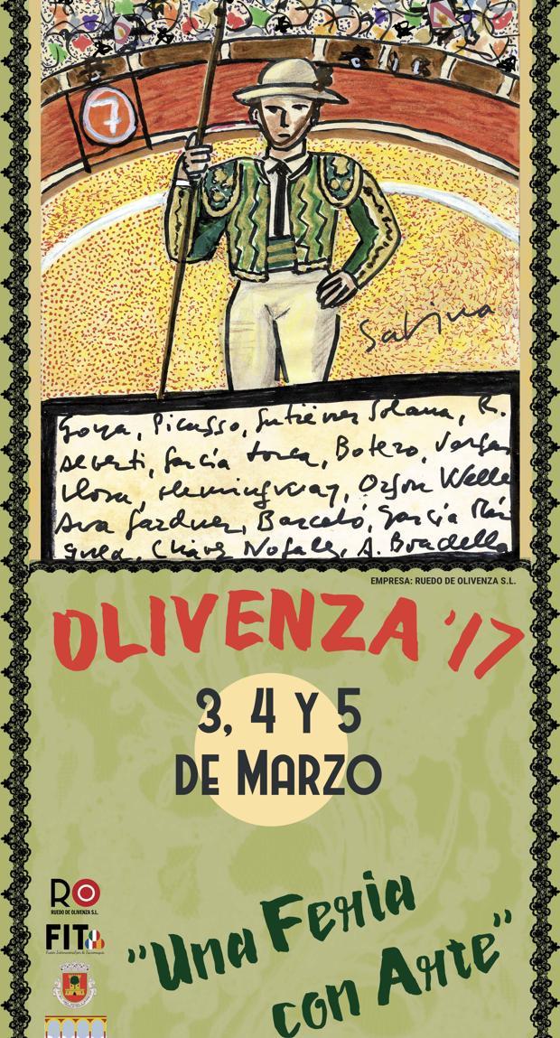 Resultado de imagen de cartel toros olivenza 2017