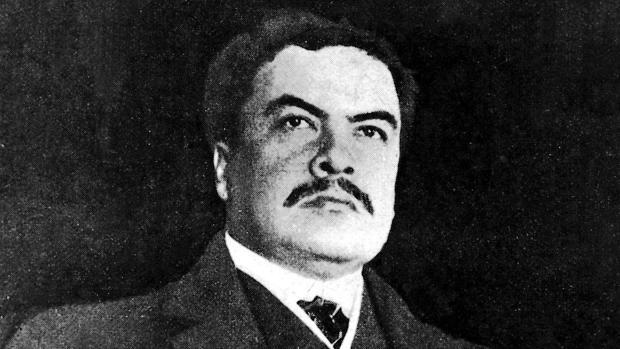 Retrato de Rubén Darío