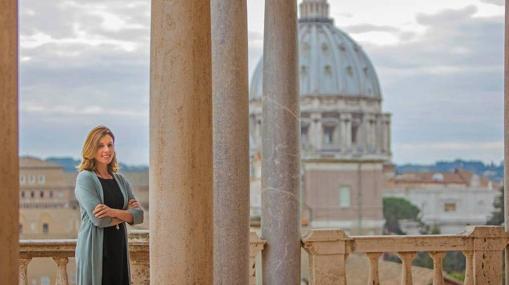 Barbara Jatta, directora de los Museos Vaticanos