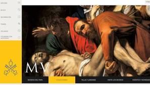 Web de los Museos Vaticanos