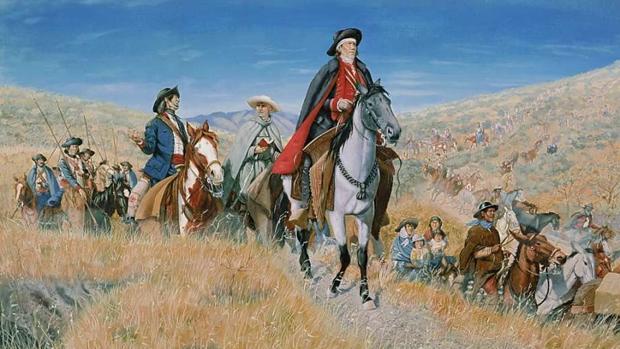 Juan Bautista de Anza abriendo la ruta de Nuevo Mexico a California