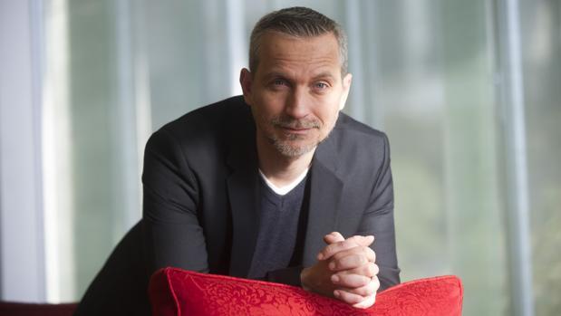 Olivier Norek, ayer en Barcelona