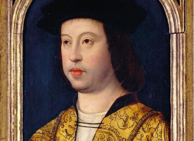 Fernando II de Aragón, pintor inglés anónimo
