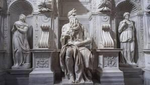 El «Moisés» de Miguel Ángel renace con su propia luz
