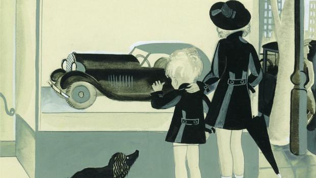 «El hermano de Celia. Regalo de Pascuas, CXXXVI» (1933), de Serny