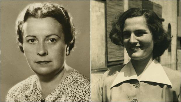 Elena Fortún y Carmen Laforet