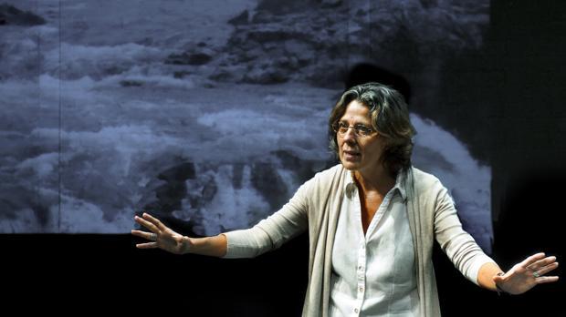 Miriam Iscla, en «Mujer no reeducable»