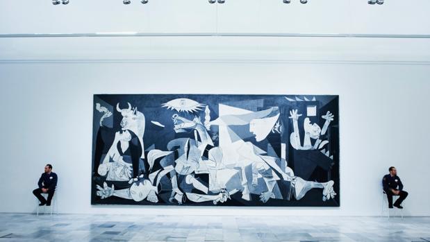 El «Guernica», en el Reina Sofía