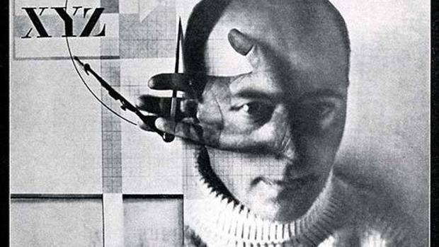 Detallle de una fotografía de El Lissitzky