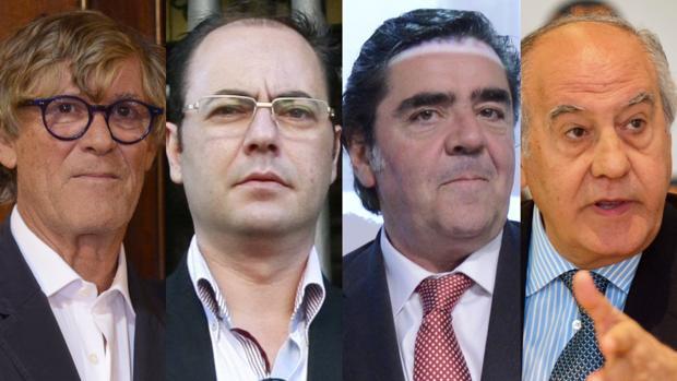 Simón Casas, Antonio Matilla, Manuel Martínez Erice y Ramón Valencia, la gran alianza europea, nuevos empresarios de la Malagueta