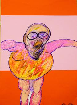 «Crucifixión» (1986), de Francis Bacon