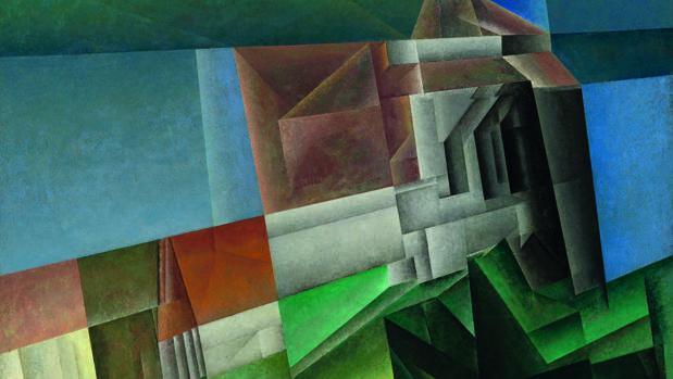 «Zirchow VII» (1918), de Lyonel Feininger