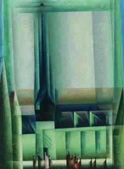 «Gelmeroda VIII» (1921), de Lyonel Feininger