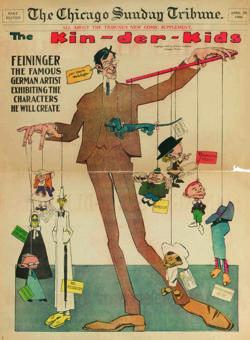 «Los niños Kin-der», dibujo publicado en el «Chicago Sunday Tribune» el 29 de abril de 1906