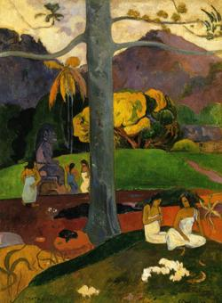 «Mata Mua», de Gauguin