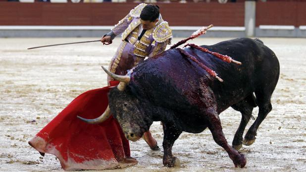 Paco Ureña, puro sentimiento el pasado año en Las Ventas