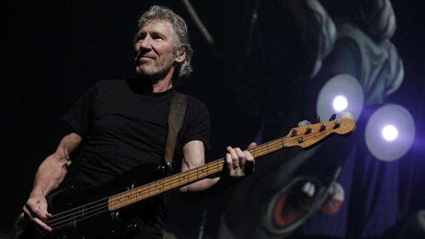 Roger Waters, durante un concierto de Pink Floyd