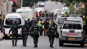 Más de 30 heridos, la mayoría policías, en una explosión junto a la plaza de toros de Bogotá