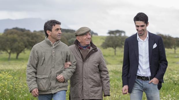 Alejandro Talavante, con los Victorino
