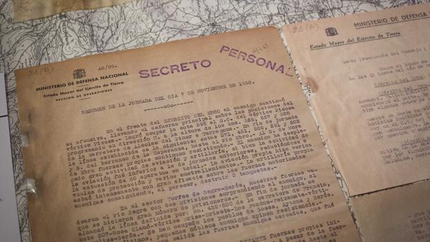 Informe secreto de la Batalla del Ebro del 7-11-1938