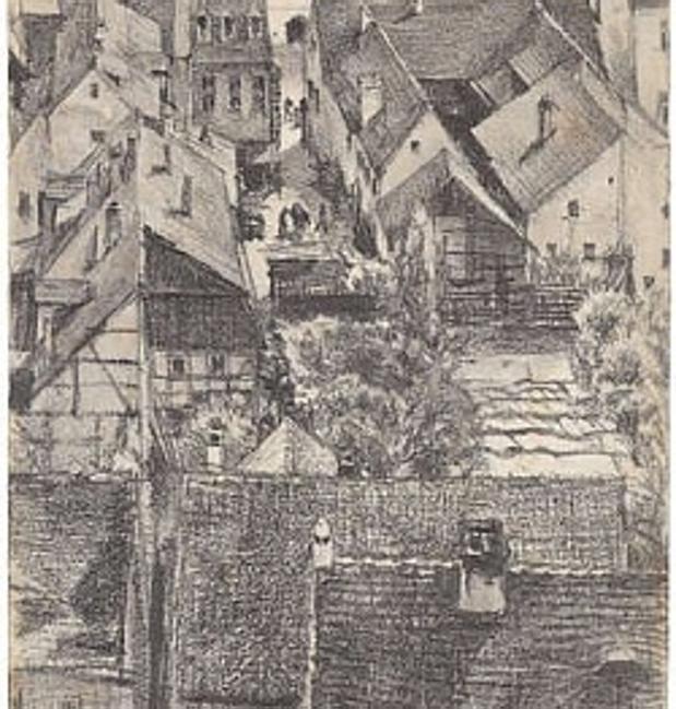 Alemania devuelve a sus dueos un dibujo de Adolph von Menzel