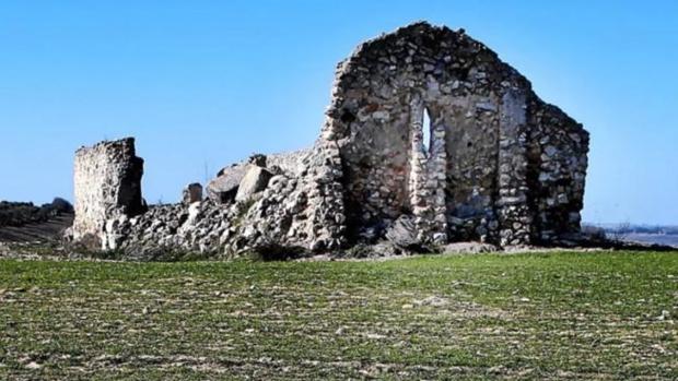 Bajo las ruinas de la ermita del cerro de la Virgen de la Muela hay un templo que perteneció a Caraca