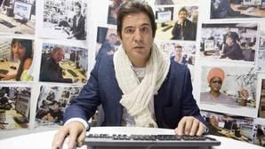 Manolo Tena, en el chat de ABC.es en una foto de archivo